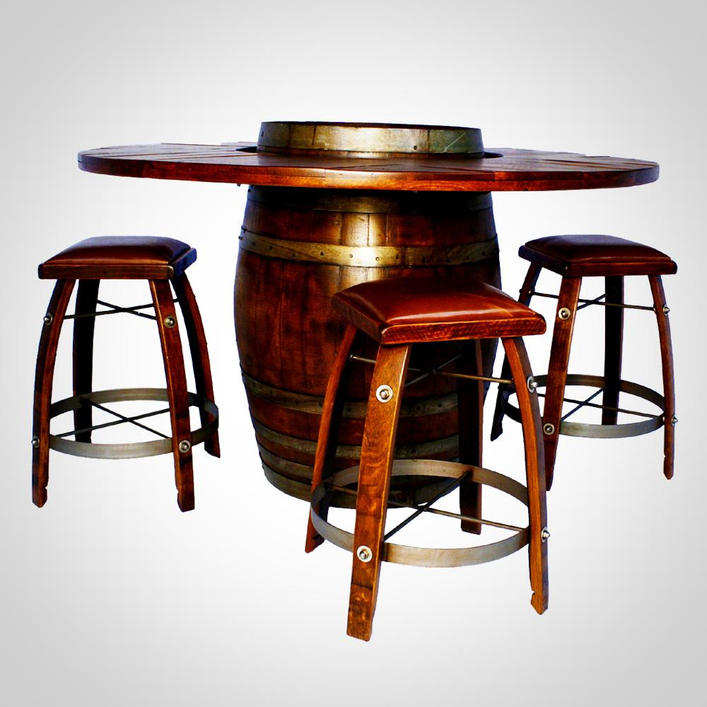 Wine Barrel Bistro Table ⋆ Show Off The Store
