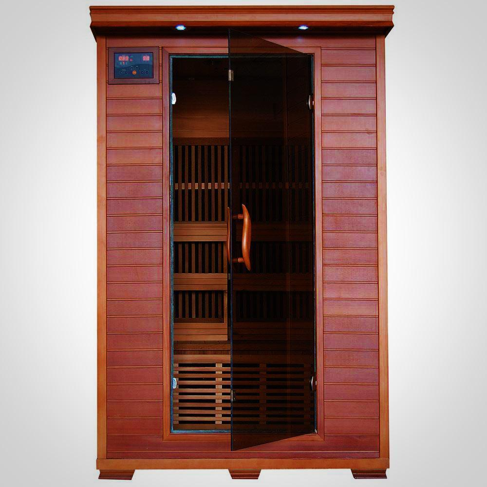Yukon Cedar 2 Person Far Infrared Sauna With Carbon