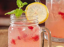 Mason Jar Drink Recipes by The Cocktail Project-Berry Limonada