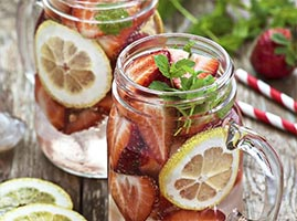 Mason Jar Drink Recipes by The Cocktail Project-Cruzan Strawberry Ginger Ale