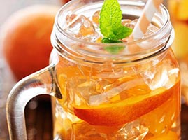 Mason Jar Drink Recipes by The Cocktail Project-Peach Tea